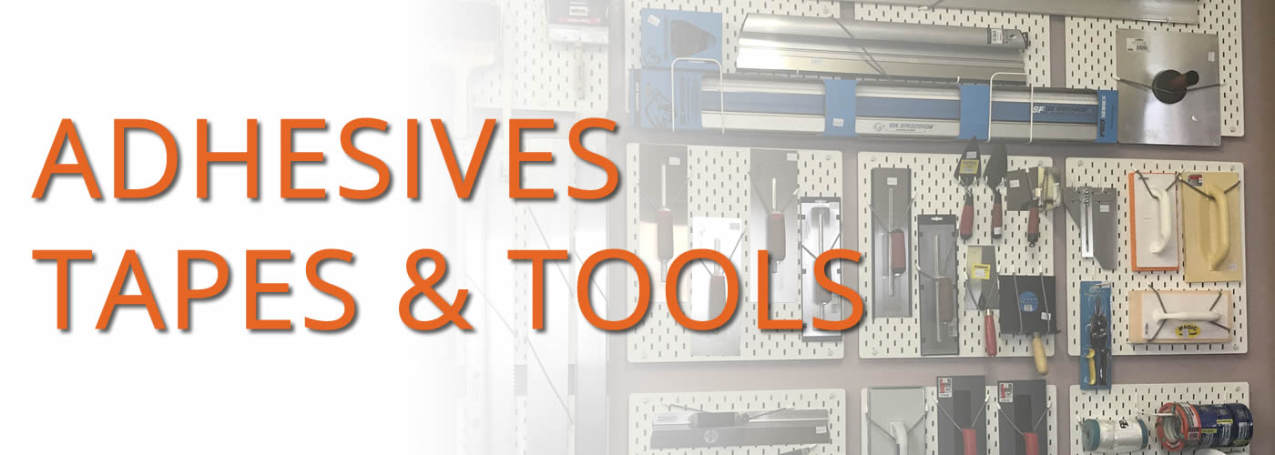 Accessories, Adhesives, Tapes and Tools
